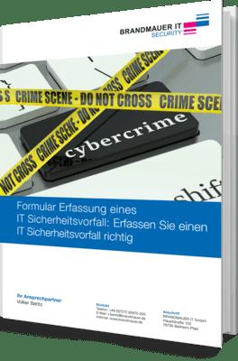 Formular zur Erfassung eines IT-Sicherheitsvorfalls
