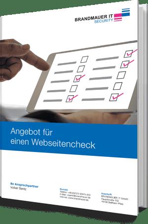 BRANDMAUER IT Webseitencheck
