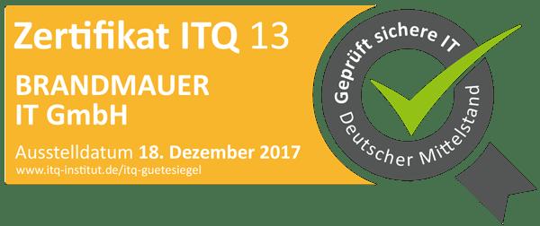 Brandmauer-IT-ITQ13-Zertifikat-2017-2019