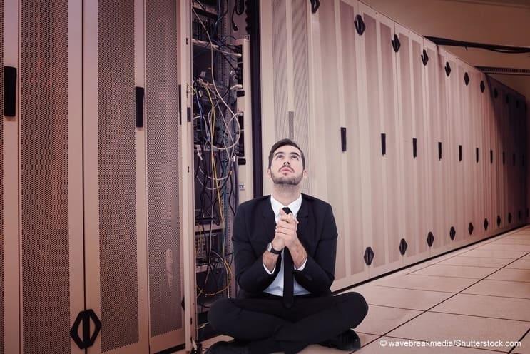 Glauben gehört in den Gottesdienst, nicht in die IT Sicherheit