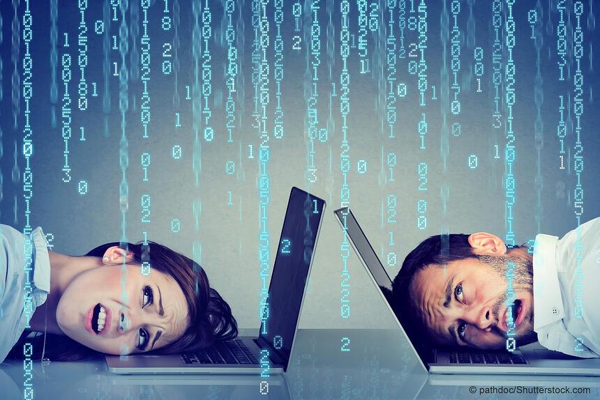 So schützen Sie Ihre Mitarbeiter vor Cyberstress