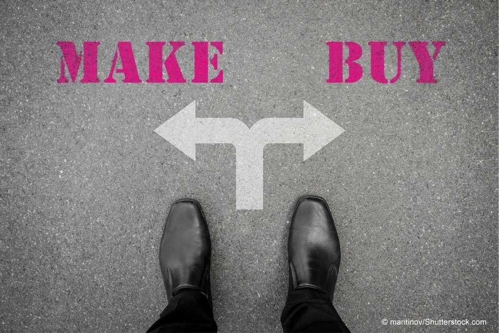 IT - make or buy - sind IT Abteilungen im Mittelstand zukunftsfähig?
