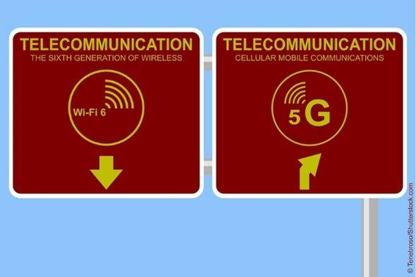 WLAN vs 5G - was ist besser für Unternehmen?